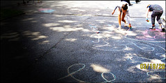 harmony day chalk (mark487) Tags: events places tasmania done launceston chalkdrawing tasmaniaaustralia harmonyday