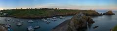 Le port de la Meule au couch de soleil (TitouanB) Tags: sunset panorama mer seascape nature landscape nikon paysage couchdesoleil vende iledyeu nikond7000