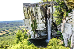 Rock City, Lookout Mtn Ga (Scott Werkheiser) Tags: mountain nature water rock clift natural lookout falls lovers valley overlook leap georiga cirty