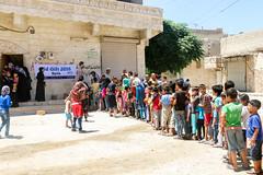 Eid Gifts for children in Aleppo (Ummah Welfare Trust) Tags: syria poverty aid hunger children war islam eid muslims ramadhan سورية سوريا ادلب ﺣﻠﺐ