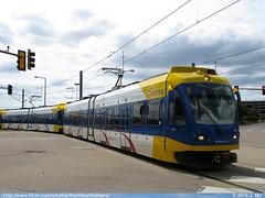 Metro Transit 127 (TheTransitCamera) Tags: bloomington mn minnesota mallofamerica metrotransit lightrail lrt train blueline bombardier flexityswift mtc127