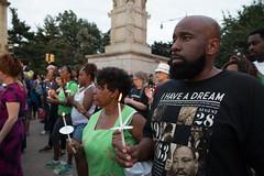 Peace Vigil -13 (MosaicMarj) Tags: brooklyn peace unity faith parkslope vigil candlelightvigil grandarmyplaza blacklivesmatter ericladams altonsterling philandocastile delrawnsmall whitepeopleforblacklives 3in3days