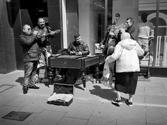 Doin' the shuffle! (shotbywiles) Tags: street uk photography town dance photographer streetphotography shuffle cheltenham towncentre iphone wiles streetphotographer wilesphotography wilesphotographycom