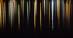 Forth Bridges - Reflections (ianjofriel) Tags: longexposure bridge sea metal architecture reflections pier dusk south bridges forth girders forthbridge queensferry forthroadbridge rnli westlothian forthrailbridge bikerscove