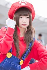 P63_023 (ms09Dom) Tags: cosplay コスプレ マリオ pf22 五木あきら itsukiakira