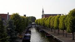 Evening view of Sloten, Friesland, Netherlands (dirk huijssoon) Tags: friesland elfstedentocht sloten elfsteden