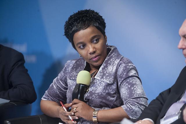 Lydia Sindisiwe Chikunga participating