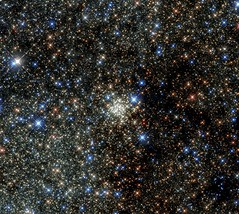 Crowded Star City (sjrankin) Tags: stars edited cluster nasa esa hst starcluster hubblespacetelescope europeanspaceagency archescluster 29may2015 archesstarcluster