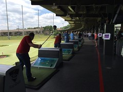 Summer Outing to Top Golf