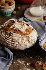 IMG_9460_exp (Helena / Rico sin Azcar) Tags: bread pan muesli sordough masamadre