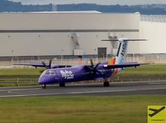 Flybe DHC-8-Q400 G-JEDU taxiing at BHD/EGAC (AviationEagle32) Tags: tarmac plane airplane flying airport aircraft aviation airplanes flight belfast aeroplane apron landing planes vehicle propellers avp aeroplanes turboprop arrivals dash8 bombardier planespotting flybe egac bhd belfastcityairport avgeek aviationphotography belfastcity bombardierdash8 dhc8q400 gjedu georgebestbelfastcityairport bombardierdhc8q400 aviationgeek aviationlovers flickraviation dh8q4 bombardierdh8q4 flybepurplelivery
