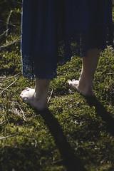 IMG_9515 (aishejonelle) Tags: blue trees portrait sky people green nature girl grass dress outdoor free preraphaelite