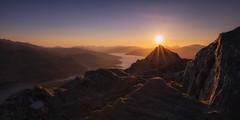 Sunstones (J McSporran) Tags: sunset scotland trossachs benaan