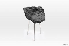 Stone Foam Stool   2015 (Matthijs Kok) Tags: matthijs art texture nature rock stone chair soft inspired clay foam installation mold stool inspire poly liquid pigment mixture kok polyurethane urethane softfoam matthijskok