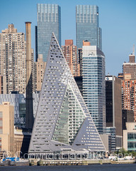 VIA 57 West Pyramid Shaped Tower Block on the Hudson River, New York City (jag9889) Tags: nyc newyorkcity usa house ny newyork building tower water skyline architecture skyscraper river newjersey apartments unitedstates pyramid outdoor manhattan unitedstatesofamerica rental midtown hudsonriver waterway timewarnercenter weehawken housingproject durst 2016 retailspace midtownwest mixeduse w57 west57 jag9889 625west57thstreet via57west 20160508