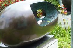 Barbara Hepworth Museum. Sculpture Garden (Pippa Robins) Tags: sculpture cornwall stives barbarahepworth barbarahepworthmuseum riverform