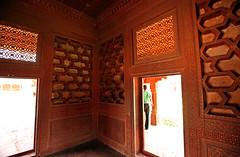 Fatehpur Sikri Palace 139 (David OMalley) Tags: india muslim islam agra palace mosque pilgrimage akbar masjid allah islamic pradesh fatehpur sikri muhammed uttar jama darwaza buland sikari vijaypur