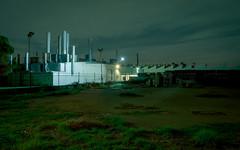 Industry Night (Andrew_Dempster) Tags: longexposure nightphotography industry night industrial nightscape nightshot au australia sa southaustralia pennington sawtooth sawtoothroof woodvillenorth