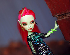 (alexandrabain89) Tags: fashion monster high doll dolls venus custom mattel repaint faceup mcflytrap