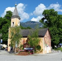 St. Sebastian in Garmisch- Partenkirchen (MsAndi63) Tags: kirche lftlmalerei stsebastian fronleichnam garmischpartenkichen bayerischealpen panasoniclumixfz150