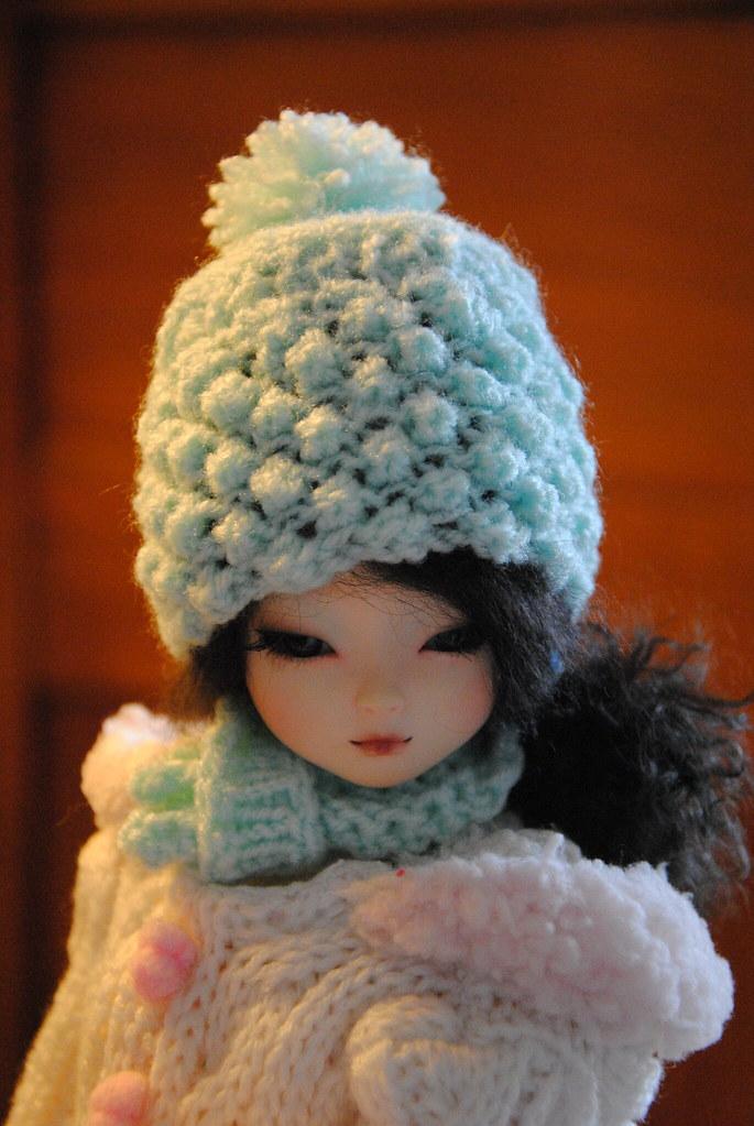 daad6d5e8de DSC 3488 (Maguynel ✿) Tags  tricot dami doll vert elf bonnet amande