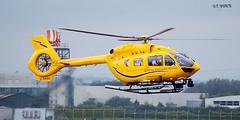G-SASS MBB-BK 117D-2 (douglasbuick) Tags: scotland airport nikon flickr glasgow aircraft aviation air ambulance helicopter bond services d40 egpf mbbbk gsass 117d2