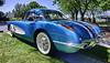 1958 Chevy Corvette (hz536n/George Thomas) Tags: 2016 cs5 canon canon5d chevrolet chevy corvette ef1740mmf4lusm flint hdr michigan sloanmuseum sloanmuseumautofair summer carshow copyright nik wow