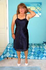 Hair Down (Trixy Deans) Tags: crossdresser cd cute crossdressing crossdress classic classy slip satin satindress xdresser sexy sexytransvestite sexyheels sexylegs sexyblonde hot heels highheels heelssexy tgirl tv transgendered transsexual trixydeans