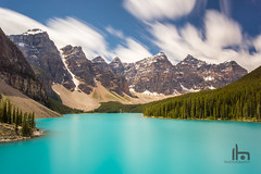 Long Exposure Moraine Lake (thephantomhennes) Tags: red