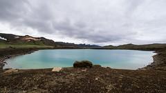 Crater Lake (katrin glaesmann) Tags: island iceland reykjanes unterwegsmiticelandtours photographyholidaywithicelandtours craterlake