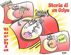 Non Golpevole! (Moise-Creativo Galattico) Tags: vignette satira attualit golpe moise turchia giornalismo erdogan editoriali moiseditoriali editorialiafumetti