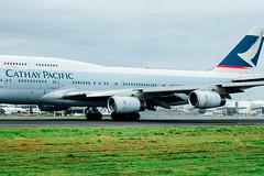 _MG_1118 (WayChen_C) Tags: aircfaft airplane rckh khh boeing 747 747400 cathaypacific bhui   rollsroyce engine