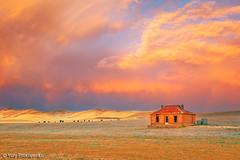 Sunset after the Storm (renatonovi1) Tags: sunset house farmhouse landscape homestead storm australia southaustralia burra