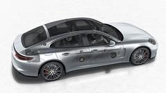 Porsche Panamera с аудиосистемой Burmester 3D