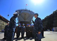 160819-N-KG618-043 (U.S. Pacific Fleet) Tags: ussblueridge usnavy yokosuka srf edsra reenlistment japan