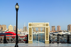 Marina, The Pearl-Qatar (jbdodane) Tags: thepearl thepearlqatar boats doha marina middleeast qatar