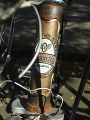 [R]ecordia (mkorsakov) Tags: mnster city innenstadt fahrrad bike bicycle wappen logo recordia retro oldschool typo rost rust