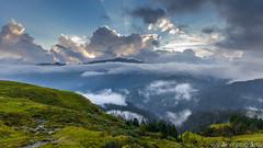 Beyond (vyshaks) Tags: travel vacation bluesky canon7d canon himalayas roopkundtrek indiahikes bednibugyal green hiking