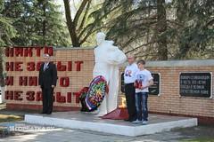 Встреча Автопробега в честь 70-летия Победы