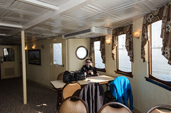 Surprise! Shot a pic of you on the ferry (m01229) Tags: unitedstates mountpleasant southcarolina 2014 d7000 december2014
