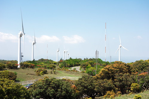 久居榊原風力発電施設(青山高原ウインドファーム)