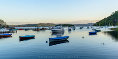 Calm Waters (w.mekwi photography) Tags: uk reflection water boats scotland tranquility calm lochlomond balmaha nikond800 wmekwiphotography