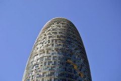 TORRE GLÒRIES (abans TORRE AGBAR) (Yeagov_Cat) Tags: barcelona catalunya avingudadiagonal torreagbar torre agbar b720arquitectos b720 jeannouvel arquitectura 2005 b270 diagonal torreglòries glòries