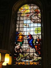 Great Witley - St Michael & All Angels (pefkosmad) Tags: uk england church window glass worship painted stainedglass holy worcestershire baroque placeofworship italianate hallowedground parishchurch stmichaelandallangels greatwitley enamelled englandsthousandbestchurches joshuaprice