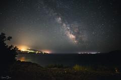 Milky Way (Gaetano Triscari) Tags: sea sky seascape night way stars landscape elba milky isola delba