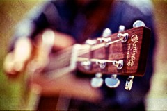 unplugged (Jeroen Mooijman) Tags: music film rock analog 35mm vintage saturated guitar string expired