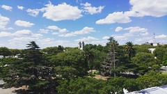 Colonia del Sacramento. Uruguay. February 2016. (mytwistedheartandthecosmos) Tags: city summer sky lighthouse southamerica nature clouds uruguay view coloniadelsacramento