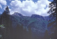 Marble Mountains (birdgal5) Tags: california 35mmslide siskiyoucounty marblemountains july1978 55mmf35micropc nikkormatel klamathnationalforest marblemountainswa klamathnf marblemtnswildernessarea