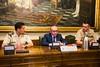 Visita al Senado de los participantes en CESEDEN 04