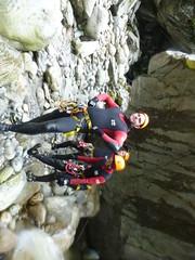 P1120395 (Mountain Sports Alpinschule) Tags: blue mountain sports lagoon canyoning zillertal zemmschlucht alpinschule